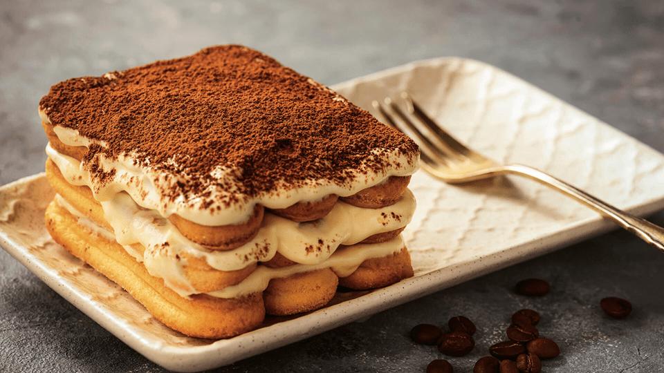 десерт с печеньем Савоярди